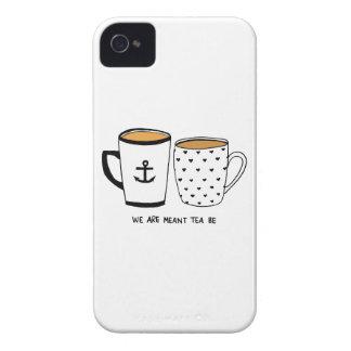 Nous sommes signifiés que le thé soit coque iPhone 4 Case-Mate