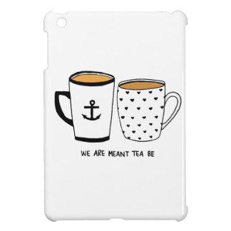 Nous sommes signifiés que le thé soit étui iPad mini