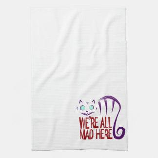 Nous sommes tous fous ici serviettes éponge