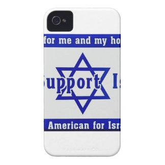 Nous soutenons l'Israël Coque Case-Mate iPhone 4