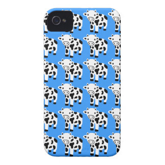 Nouveau cadeau bleu mignon de caisse de Blackberry Coques iPhone 4 Case-Mate
