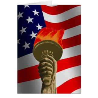 Nouveau citoyen bienvenu des États-Unis Carte De Vœux
