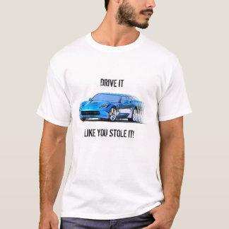 Nouveau T-shirt de Corvette
