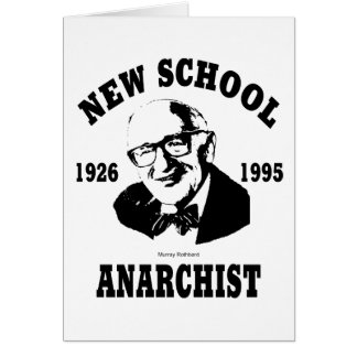 Nouvel anarchiste  --  Murray Rothbard Carte De Vœux