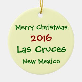 NOUVEL ORNEMENT 2016 de NOËL de Las Cruces Nouveau