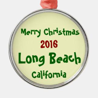 NOUVEL ORNEMENT 2016 DE NOËL DE LONG BEACH LA