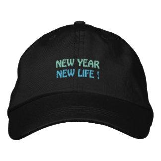 NOUVELLE ANNÉE/NOUVEAU casquette de la VIE (noir)