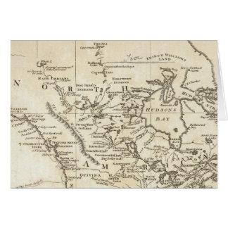 Nouvelle carte de l'Amérique du Nord