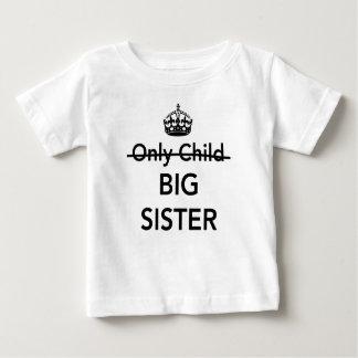 Nouvelle grande soeur t-shirt pour bébé