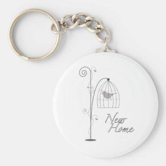 Nouvelle maison porte-clefs