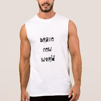 Nouvelle pièce en t courageuse À LA MODE T-shirt Sans Manches
