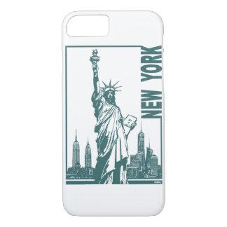 Nouvelle York-Statue de la liberté Coque iPhone 7