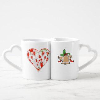 Nouvelles BELLES tasses de NOËL d'amants