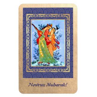 Nowruz Mubarak. Magnet persan de cadeau de