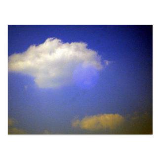 nuage en carte postale de ciel