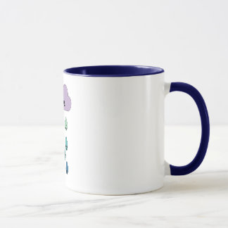 Nuageux avec un risque de pluie mug