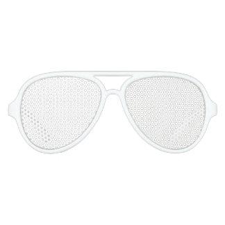 Nuances adultes faites sur commande de partie lunettes de fête aviateur
