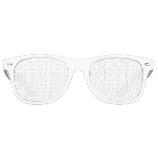 Nuances adultes faites sur commande de partie lunettes de fête retro