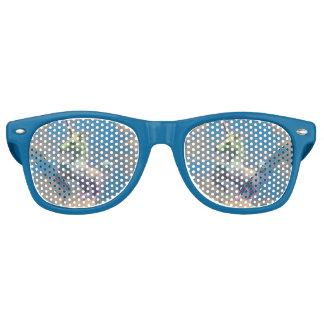 Nuances de lunettes de soleil de licorne (bleu de