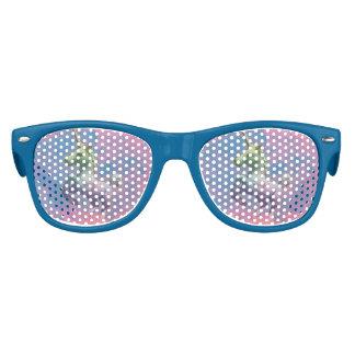 Nuances de lunettes de soleil de licorne (rose de