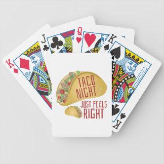 Nuit de taco cartes à jouer