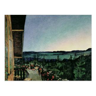 Nuit d'été, 1899 cartes postales