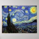 Nuit étoilée par Vincent van Gogh 1889