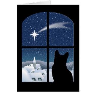Nuit silencieuse, carte sainte de nuit