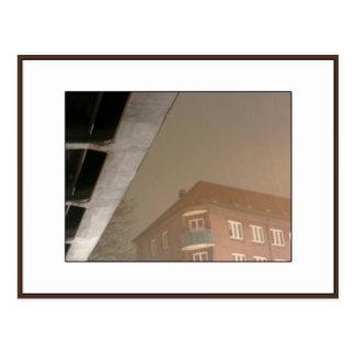 Nuit sous le pont, Hambourg Carte Postale