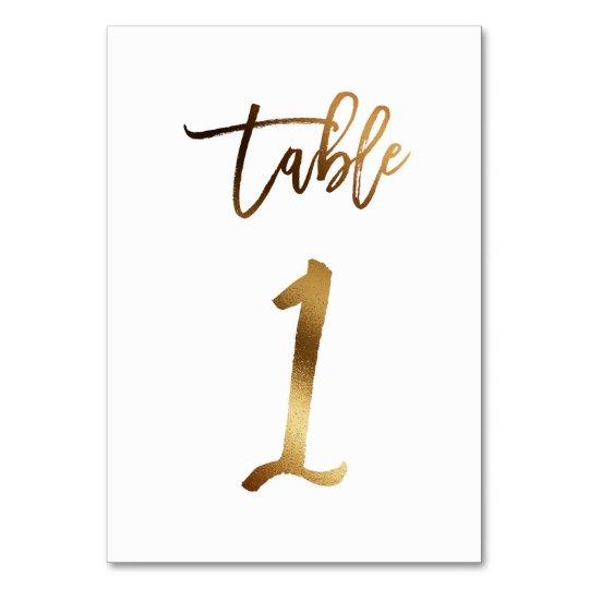 Numero De Table Tableau Chic 1 Du Numero De Table De Mariage De