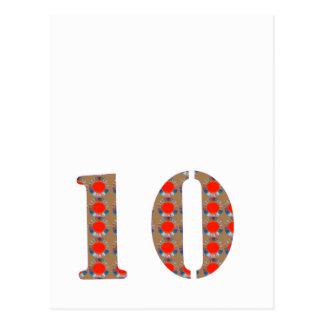 Nummer 10 de HERINNERING van het Jubileum van de Briefkaart