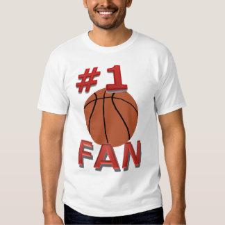 Nummer 1 de Ventilator van het Basketbal Shirts