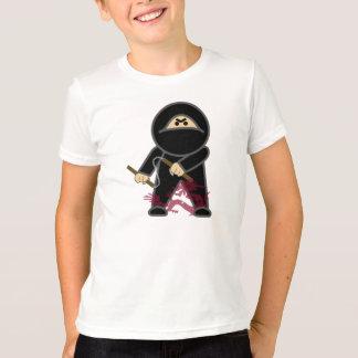 Nunchaku Ninja, le T-shirt de l'enfant caché de