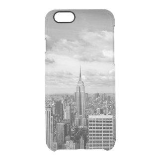 NY NYC van de Stad van New York de reis van de Doorzichtig iPhone 6/6S Hoesje