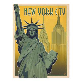 Cartes postales vintages de New-York