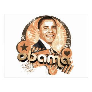 Obama Carte Postale