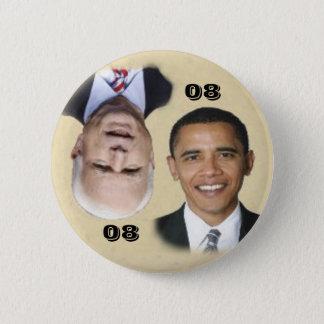Obama/McCain 08/80 bouton Badge Rond 5 Cm