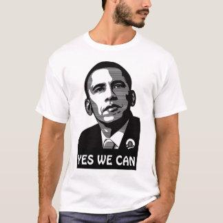 Obama oui nous pouvons T-shirt