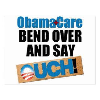 ObamaCare : Courbure plus de Carte Postale