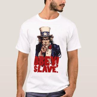 Obéissez ! Économisez. T-shirt sale d'Oncle Sam