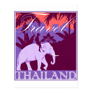 Objet superflu de la Thaïlande de voyage Carte Postale