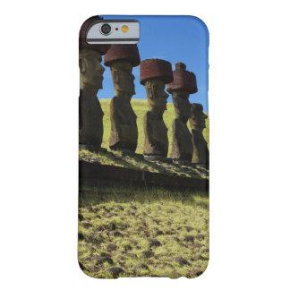 Objets façonnés de Rapa Nui, île de Pâques Coque Barely There iPhone 6