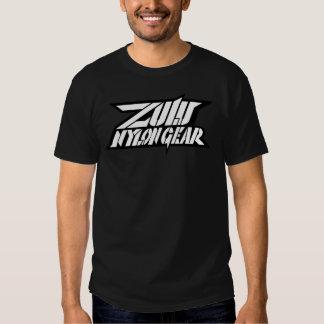 Obscurité superbe de logo de vitesse en nylon de tee-shirts
