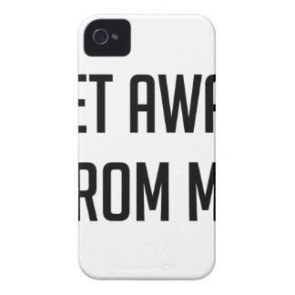 Obtenez à partir de moi coque iPhone 4 Case-Mate