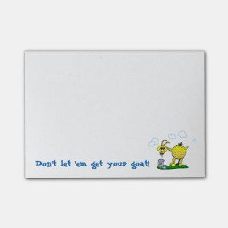 Obtenez à votre chèvre les notes collantes post-it®