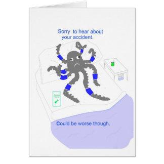 Obtenez bien après accident carte de vœux