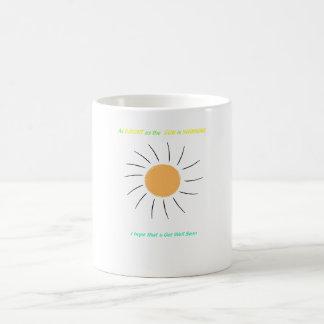 obtenez bien bientôt mug magique
