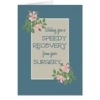 Obtenez bien de la carte de chirurgie, Dogroses