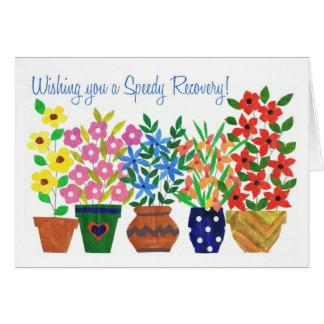 Obtenez bientôt la carte bonne - flower power