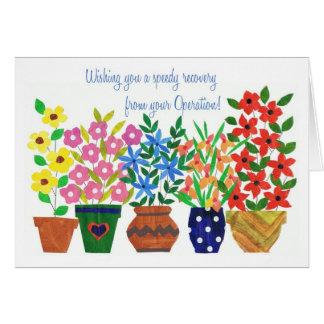 Obtenez la carte bonne - opération - flower power